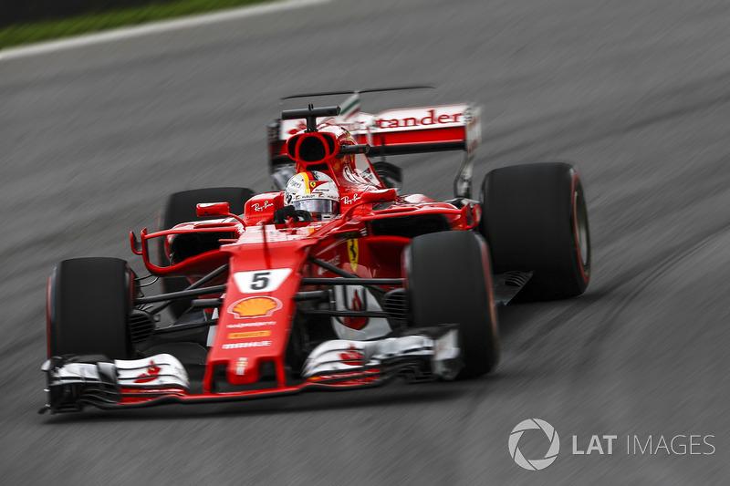 2. Sebastian Vettel, Ferrari SF70H