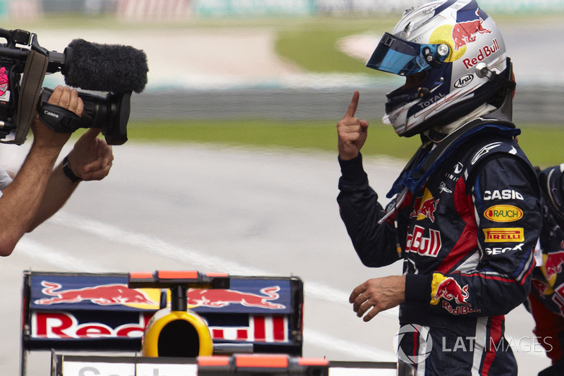 Pole de Sebastian Vettel, Red Bull Racing