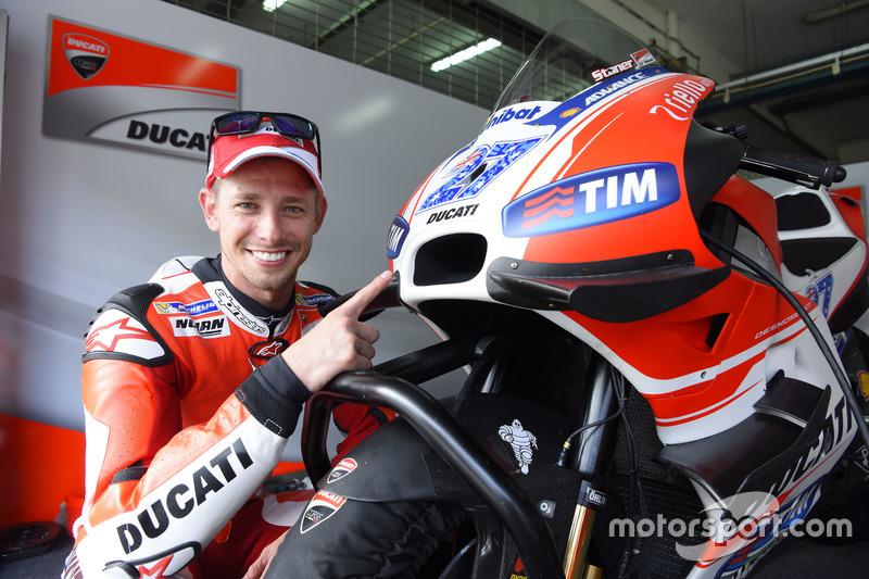 Casey Stoner, Ducati Desmosedici GP15