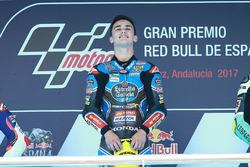 Podium : le vainqueur Aron Canet, Estrella Galicia 0,0
