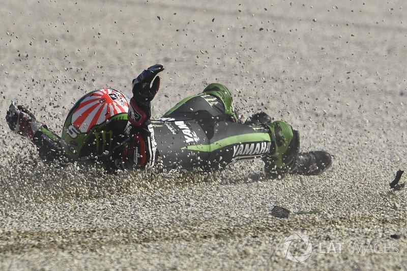Accidente de Johann Zarco, Monster Yamaha Tech 3