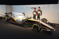 Sergio Perez, Esteban Ocon, Sahara Force India F1 VJM10