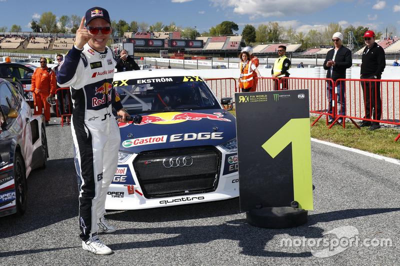 1. Mattias Ekström, EKS, Audi S1 EKS RX Quattro