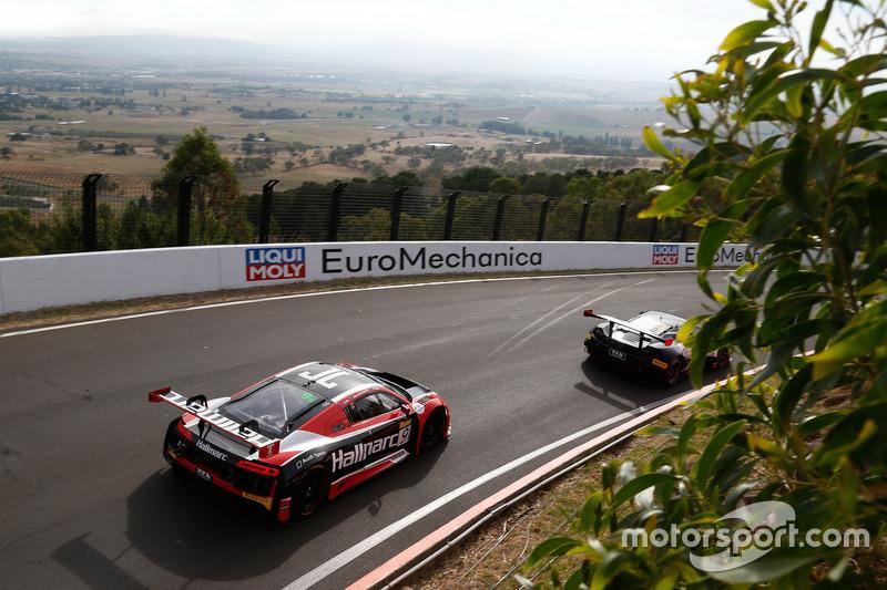 #9 Hallmarc, Audi R8 LMS: Marc Cini, Lee Holdsworth, Dean Fiore