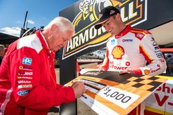 Dick Johnson Team Penske Ford, polesitter Scott McLaughlin, Team Penske Ford