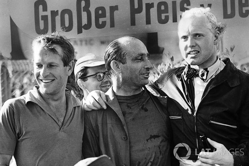 Isso era um hábito bastante comum nas primeiras décadas da F1. Fangio, Hawthorn, Moss... Correr em Le Mans era quase obrigatório aos pilotos de F1!