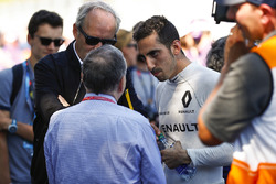 Президент FIA Жан Тодт розмовляє з Себастьяном Буемі, Renault e.Dams