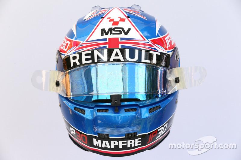 Helm von Jolyon Palmer, Renault Sport F1 Team RS17