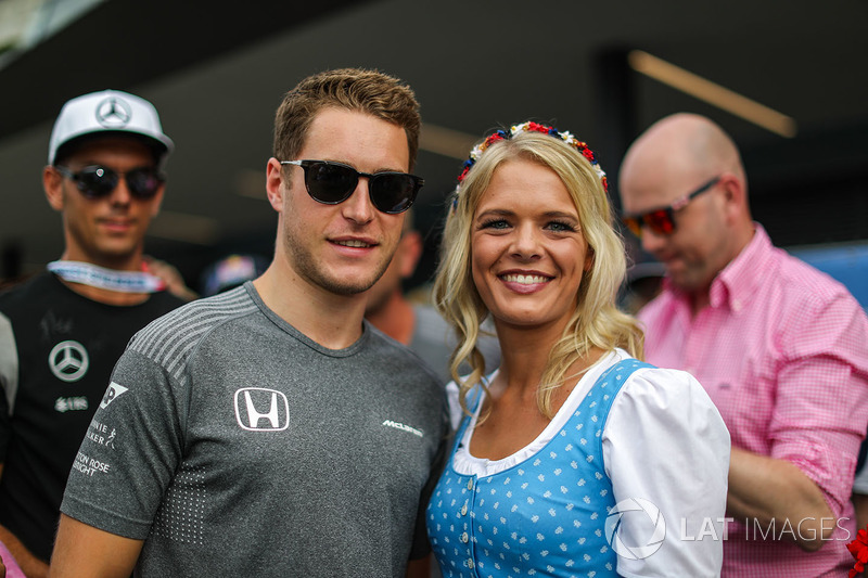 Стоффель Вандорн, McLaren, дівчина