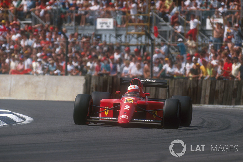 24º Nigel Mansell, Ferrari 641, Silverstone 1990. Tiempo: 1:07.428