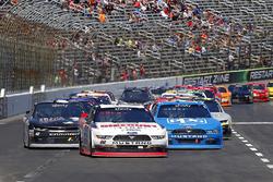 Ryan Blaney, Team Penske Ford, Joey Logano, Team Penske Ford and Tyler Reddick, Chip Ganassi Racing Chevrolet