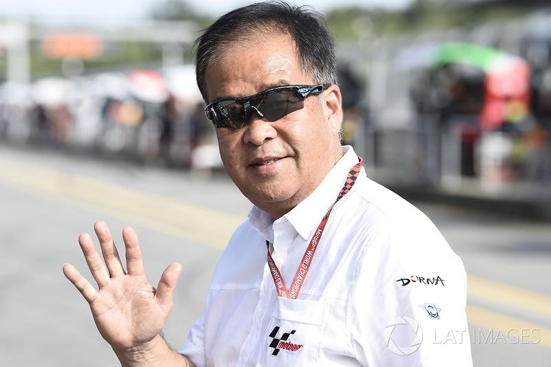 Сухеі Накамото, спеціальний радник Dorna Sports