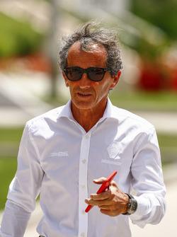 Alain Prost, ex campeón del mundo y asesor, Renault Sport F1 Team