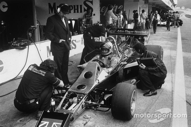 Маріо Андретті, Lotus 77