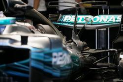 Задня чатсина Mercedes-Benz F1 W08