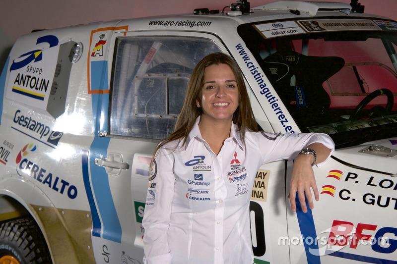 Cristina Gutierrez, Mitsubishi