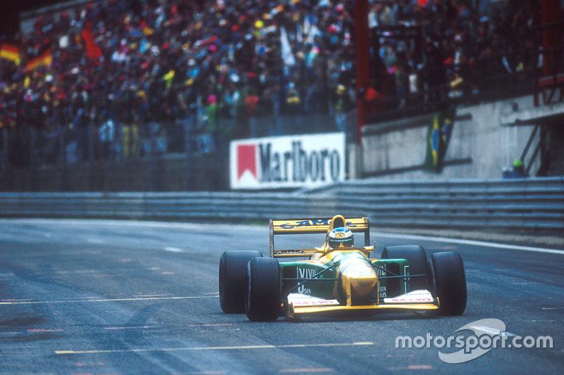 Benetton - 1992 (GP Belgia)