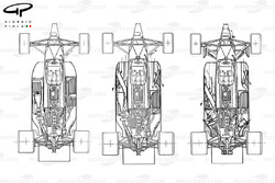 Brabham BT55 1986 packaging evolution