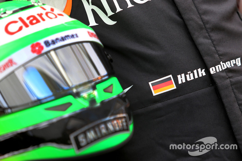 Helm von Nico Hülkenberg, Sahara Force India F1