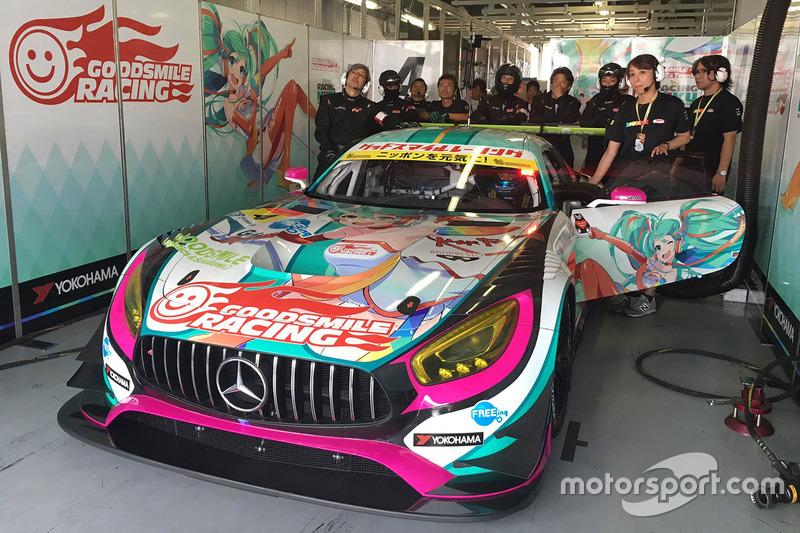 #4 Goodsmile Racing & Team Ukyo Mercedes SLS AMG GT3