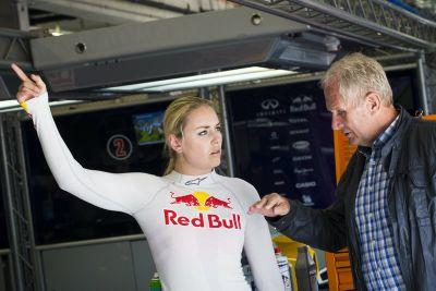 Lindsey Vonn Fórmula Renault 3.5 pruebas