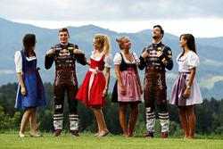 Daniel Ricciardo, Red Bull Racing, Max Verstappen, Red Bull Racing és a Forma 1-es lányok