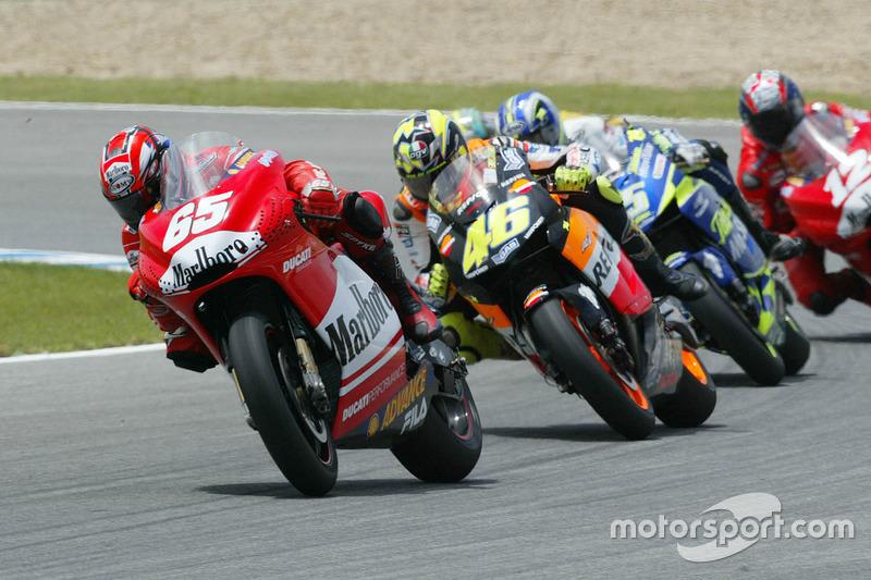 Loris Capirossi, Ducati Team, Valentino Rossi, Repsol Honda Team