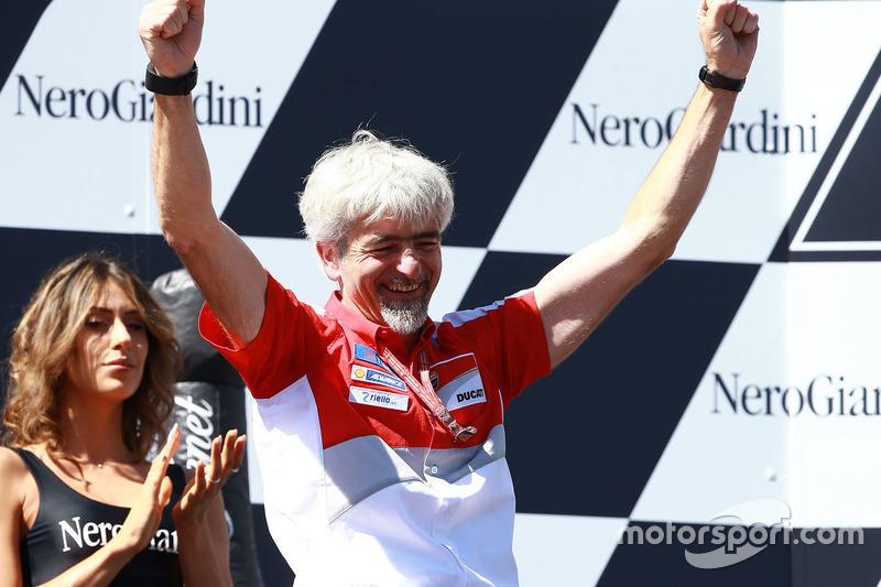 Podium: Gigi Dall'Igna, Ducati Team General Manager