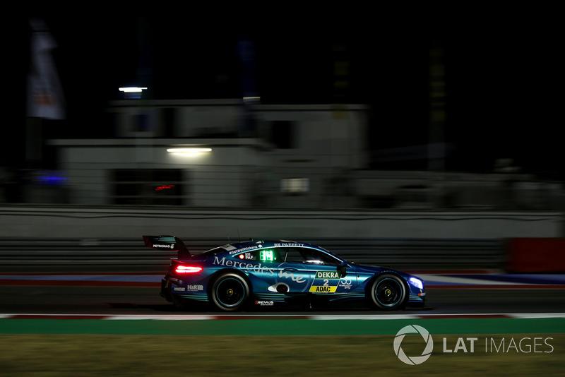 DNF Gary Paffett, Mercedes-AMG Team HWA, Mercedes-AMG C63 DTM