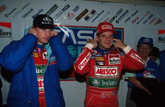 Eddie Irvine, Jordan y Rubens Barrichello, Jordan