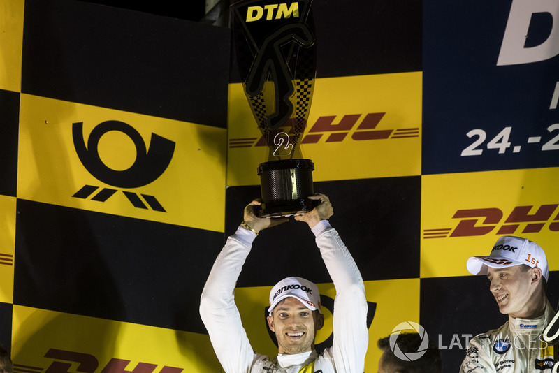 Podium: Second place Edoardo Mortara, Mercedes-AMG Team HWA