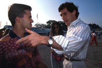 Pedro Lamy, Lotus, Ayrton Senna, McLaren
