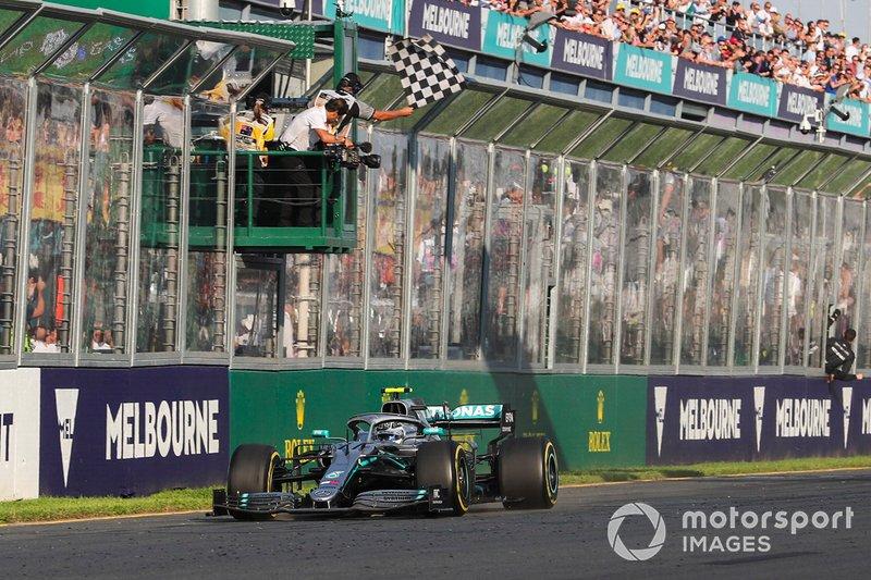 2019: Valtteri Bottas, Mercedes AMG W10