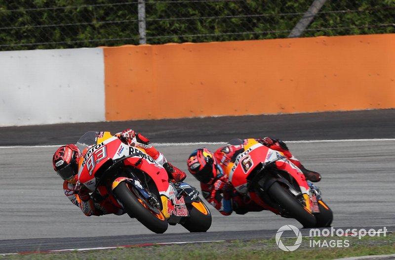 Marc Marquez, Repsol Honda Team, Stefan Bradl, Repsol Honda Team