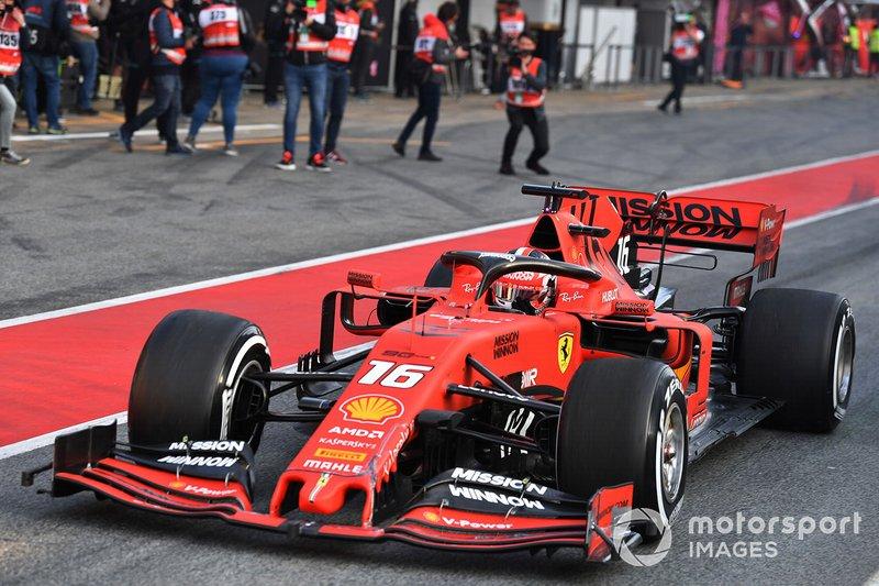 2 місце — Шарль Леклер, Ferrari