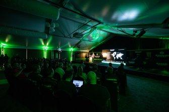 Kawasaki Racing Team launch atmosphere