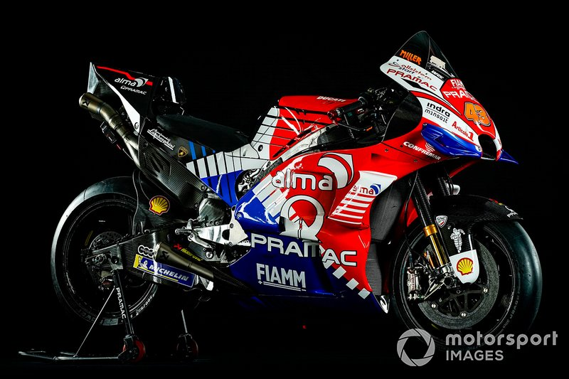 Pramac Racing moto