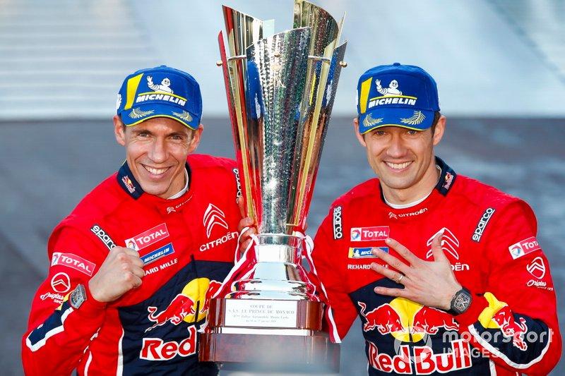 Winner Sébastien Ogier, Julien Ingrassia, Citroën World Rally Team Citroen C3 WRC
