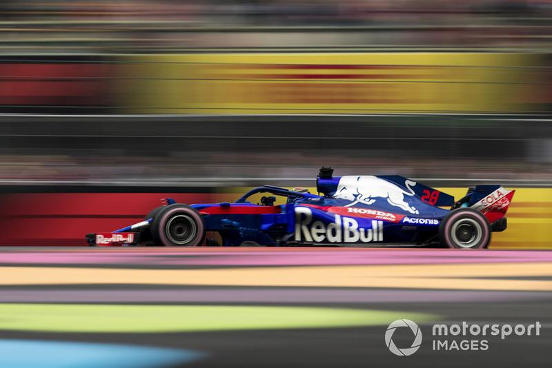 14: Brendon Hartley, Toro Rosso STR13, 1'17.184