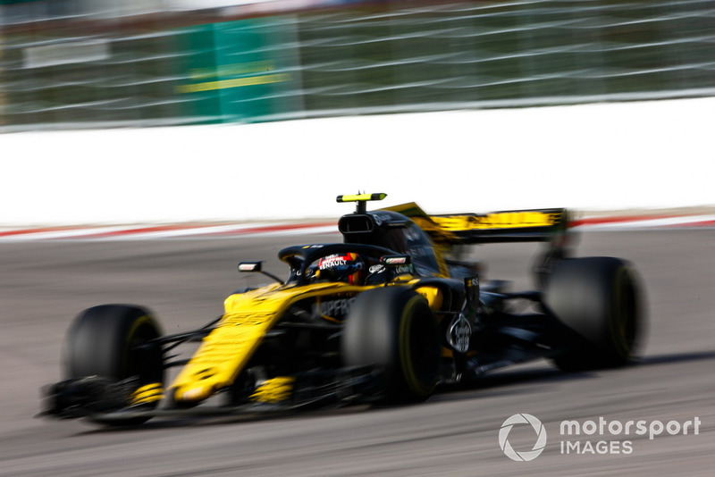 P17: Carlos Sainz Jr., Renault Sport F1 Team R.S. 18