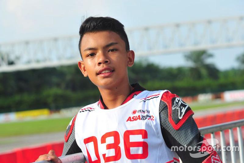 Adenanta Putra saat seleksi Asia Talent Cup 2018