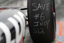 Robert Wickens, Schmidt Peterson Motorsports Honda, neumátios