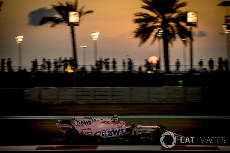 9. Esteban Ocon, Sahara Force India F1 VJM10