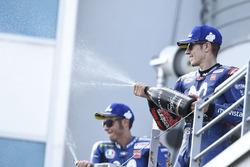 Podium : le troisième, Maverick Viñales, Yamaha Factory Racing