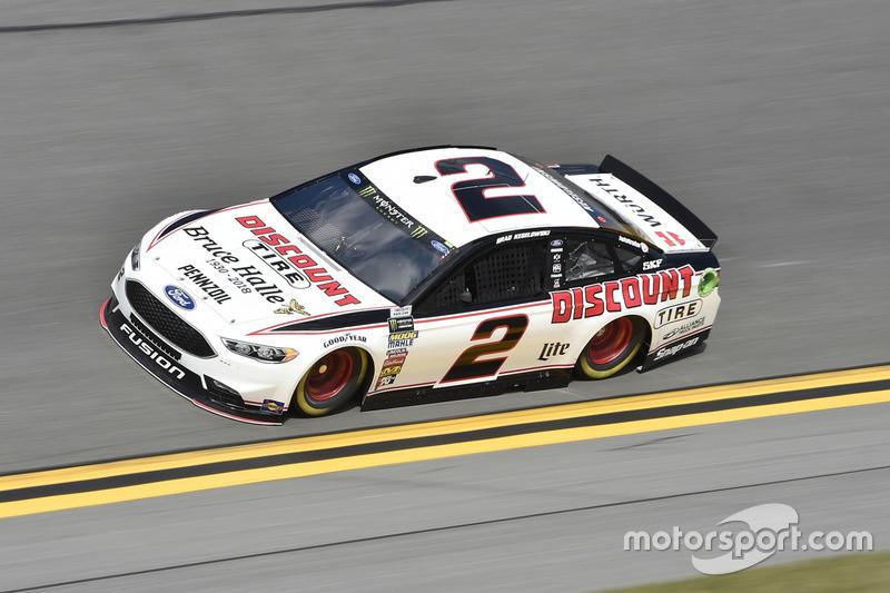 Brad Keselowski, Team Penske, Discount Tire Ford Fusion