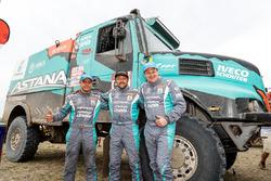#508 Iveco Powerstar: Artur Ardavichus, Serge Bruynkens, Michel Huisman
