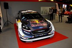 Une Ford Fiesta WRC