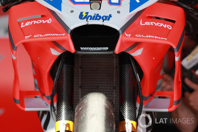 Andrea Dovizioso, Ducati Team, fairing