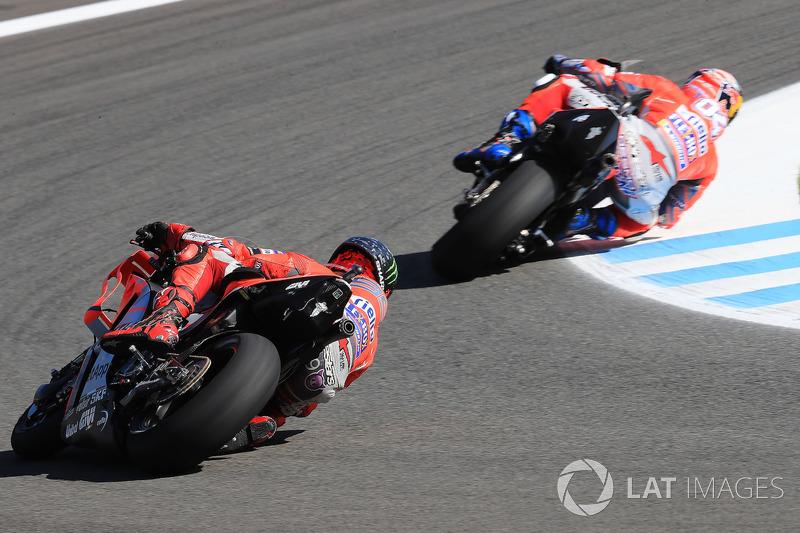 Андреа Довіціозо, Хорхе Лоренсо, Ducati Team