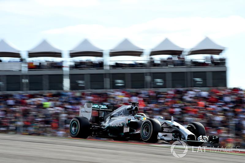 2014 – Остин: Льюис Хэмилтон, Mercedes F1 W05 Hybrid